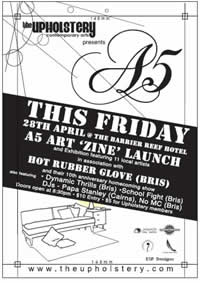 zine launch - the upholstery